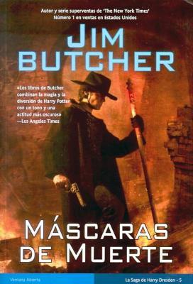 MASCARAS DE MUERTE (Jim Butcher)